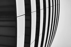 (jean_pichot1) Tags: scandinavia denmark balcony balconies below under dark pattern shapes contrast bw circle circular rounded floors repeating edge side above up building copenhagen