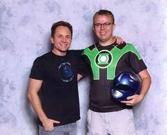 David Yost and Me (Adam Antium) Tags: dragon con 2016 convention photo op picture pic celebrity shoot david yost billy blue power ranger mighty morphin rangers
