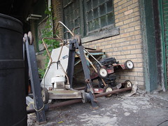summer's over (photography_isn't_terrorism) Tags: mower lawnmower murphysmart american explore