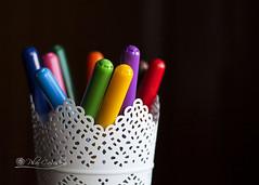 Colorear (Panthea616) Tags: colores rotuladores escritorio contrastes