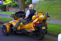 Spyder RTS (swong95765) Tags: transportation threewheel motorcycle tricycle bike modern sleek vehicle