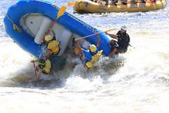 huge raft flip in ottawa river (woodleywonderworks) Tags: ottawa river boat falling flipping dangerous swimming fail flopping wailing guide raft paddle fun swim wet family vacation canada