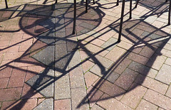 Chairs (Durley Beachbum) Tags: 116picturesin2016108 shadows shapes october