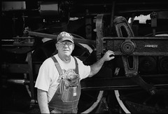 steam-0003 (Justin in New Orleans) Tags: fujica 690 6x9 ilford neworleans audubonpark steamlocomotive southernpacific