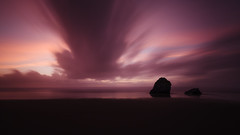 Room To Dream (John Westrock) Tags: sunset longexposure clouds rocks ocean pacificocean pacificnorthwest oregon beach seascape canoneos5dmarkiii canonef1635mmf4lis bwnd1000x