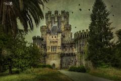 Castillo de Butrn (Spain) (Marcial Carretero) Tags: arquitectura fortaleza castillo castle fortress fort textura texture textures shloss paisvasco euskadi vizcaya bizkaia espaa spain