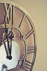 Half Time (d.barnett53) Tags: macro sony interior matte stilllife romannumerals time clock