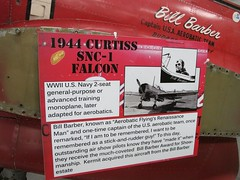 "Curtiss-Wright SNC-1 Falcon 2 • <a style=""font-size:0.8em;"" href=""http://www.flickr.com/photos/81723459@N04/30146559675/"" target=""_blank"">View on Flickr</a>"