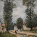 SISLEY Alfred,1875 - Route de Versailles (Orsay) - Detail - 0