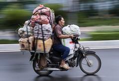Panning in Nha Trang II (billcoo) Tags: fujinon scooter travel xt2 fujifilm fuji honda khanhhoa f2 35mm wr explore