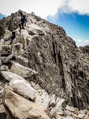 Paso de Mahoma - exposed rock scrambling close to the Aneto summit (lukskat) Tags: europe trekking mountains pyrenees picoaneto scrambling rock exposed pasodemahoma
