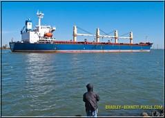 Ozge Aksoy 1571 LR (bradleybennett) Tags: cargo vessel ship shipping delta water river ocean tanker antioch port stockton ozge aksoy
