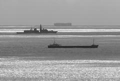 Shipping Lanes (Robin M Morrison) Tags: sea ships three 3 lizard cornwall