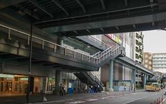 city of pedestrian deck (kasa51) Tags: cityscape stationfront pedestriandeck totsuka yokohama japan