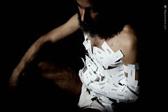Label (himiguelandres) Tags: performance performingarts miguelandres beard contemporaryart art conteporaryart performer