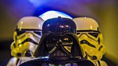 Vader and the Stormtroopettes (Ignacio M. Jimnez) Tags: macromondays backlit vader darthvader starwars lego ignaciomjimnez stormtrooper