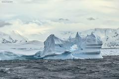 Gerlache Strait (naturalturn) Tags: blue hole ice glacier iceberg packice mountain mountains snow gerlachestrait gerlache strait antarctica image:rating=5 image:id=190440