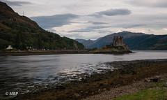 The Castle (MNP[FR]) Tags: 2016 ecosse scotland water clouds castle mountain long exposure chteau samsung nd montagne eilean donan eau lee filters big stopper pose longue nuage dornie filtres nx1