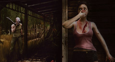 Don't breathe... ( Flor  back - catching up) Tags: horror terror movie scene murder murderer fear halloween spooky florianathor