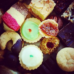 """#HamOnt #Luxury #Foodies #PunchBowl #ChristmasBaking #Christmas #Sweets #Festive #goodfoodmatters #CountryMarket #CountdownToChristmas #GoodieBox #Butter #Chocolate #Bakery #BelgianCookie #Pecans #PecanCrescents #RaspberryJam #RibbonCookies #PeanutButterC • <a style=""""font-size:0.8em;"""" href=""""http://www.flickr.com/photos/129307582@N07/15263683794/"""" target=""""_blank"""">View on Flickr</a>"""