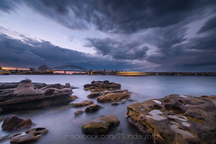 Sydney Storm (Chaiwat lee www.facebook.com/Mondayfoto) Tags: sunset cloud storm sydney australian scenic australia aus sydneyharbor sydneyoperahouse sydneybridge sydneyharborbridge