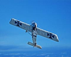 Eindecker (DASEye) Tags: plane nikon aircraft wwi airshow planes militaryaviation dayseye eindecker davidadamson militaryaviationmuseum airshowvirginiabeach