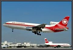 C-FTND Air Canada - Air Lanka livery (Bob Garrard) Tags: canada gulf air delta lanka mia lockheed tristar twa l1011 kmia cftnd 4ralg a4otp