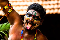 Expression ! (Madraskaaran) Tags: canon andhra dakshinchitra canoneos1200d bonaludance
