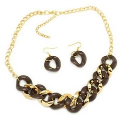 5th Avenue Brown Necklace P2320-2