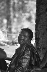 Nepali Portraits I (Jgunns91) Tags: world nepal portrait blackandwhite bw woman travelling eyes travels nikon culture personality story 365 57 project365
