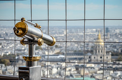 Out of sight (patrick.obrien92) Tags: travel paris europe eiffeltower telescope