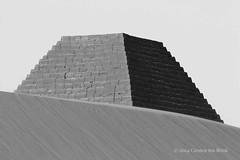 Meroe Royal Cemetery - northern group, topless (10b travelling) Tags: africa bw sahara monochrome cemetery blackwhite ruins northafrica sudan group kingdom unescoworldheritagesite unesco worldheritagesite nile topless pyramids northern archeology khartoum tombs humanidad patrimonio kush meroe 2013 meroë kushite carstentenbrink iptcbasic ph1336 cmtbbw islandofmeroe ph01336