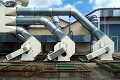Matha France 2013 (Delay Tactics) Tags: sky 3 france industry three pipes explore machinery metalwork matha simmob