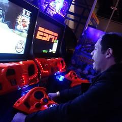 Darren driving
