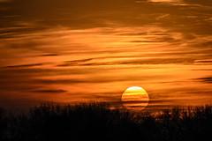 Sunset_49538.jpg (Mully410 * Images) Tags: trees winter sunset snow cold ice clouds ahatswildlifeobservationarea ahatswoa