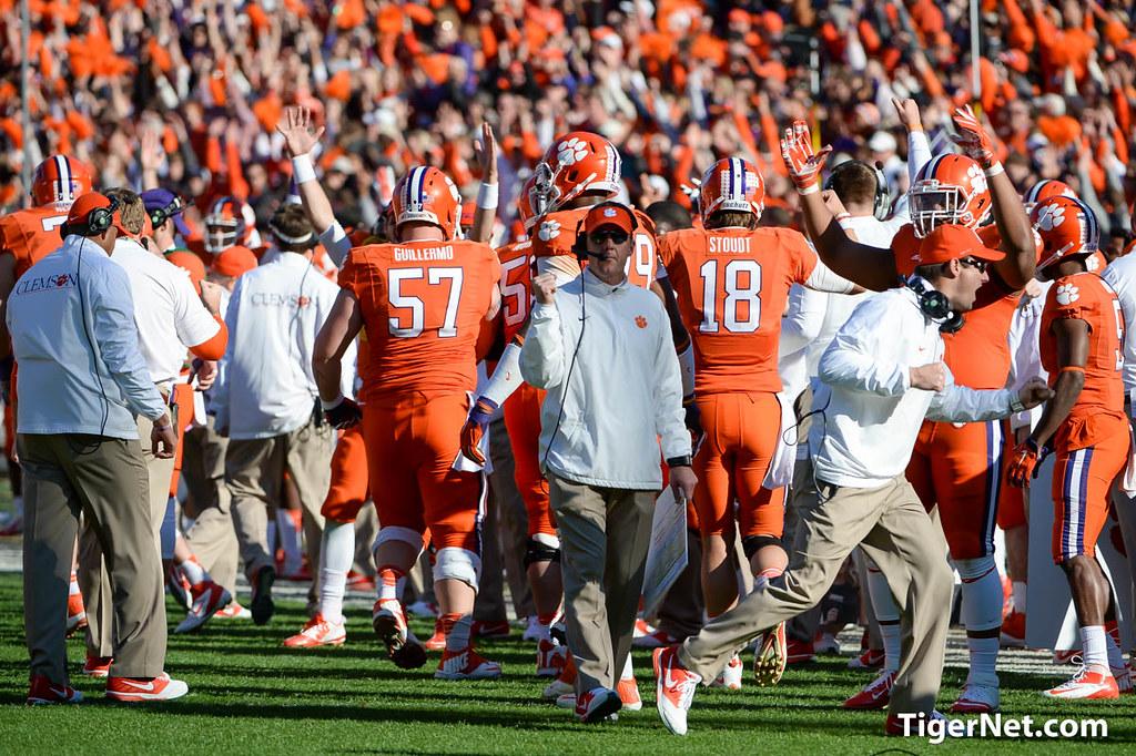 Clemson Photos: 2014, South  Carolina, Football, Chad  Morris