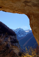 Scorci (Arianna Mugnari) Tags: parco sun snow mountains tree nature rock trekking top excursion abruzzo majella nazionale windond
