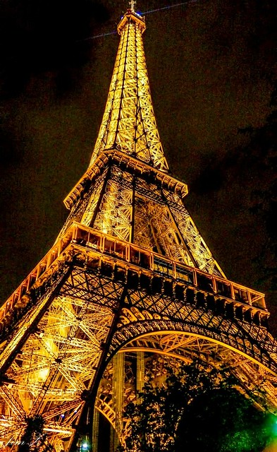 The night view of Paris 18, The Eiffel Tower