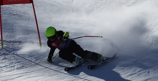 English Alpine Champs GS Bormio Feb 2015