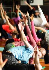 yoga w/ lululemon (zin_kai) Tags: yoga canon relax peace health saltlakecity balance slc workout fitness lululemon canon70d