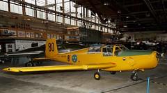 SAAB 91C Safir Sk 50C in Västerås (J.Comstedt) Tags: aircraft aviation swedish force vasteras museum stockholm airport sweden saab 91 safir 91395 sk 50 50080 sekya air johnny comstedt