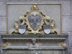 Herb (magro_kr) Tags: detail architecture germany deutschland heraldry coatofarms herb ulm detal badenwürttemberg architektura niemcy szczegół szczegol heraldyka badeniawirtembergia