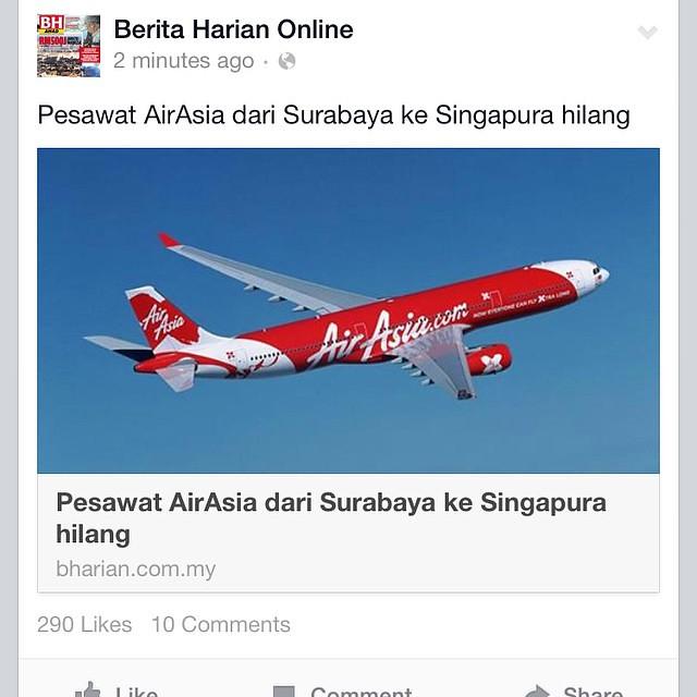 #prayforawq8501#airasia #airasiaindonesia