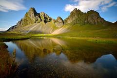 Riflessi - Islanda (Fabio Todeschini ) Tags: sky lake lago iceland reflex nikon long exposure sigma fabio exposition filter nd haida riflesso islanda filtro todeschini nd1000 d3100 fabiotode