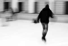 skater (chiara ...) Tags: winter shadow bw ice skater skates neroamet