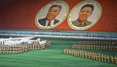 Mass Games in North Korea (EleanorGiul ~ http://thevelvetrocket.com/) Tags: asia kimjongil northkorea pyongyang dprk coreadelnorte kimilsung nordkorea    massgames coredunord coreadelnord justinames  coriadonorte visitnorthkorea httpthevelvetrocketcom eleonoragiuliani eleonoraames