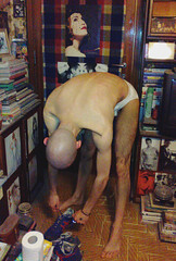 LUPO98494947DTH7 (Evgenij Nikolaev) Tags: boy hairy hot male guy feet naked skinny dude chav skinhead scally lupin4th