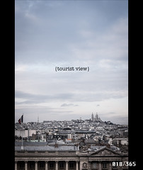 Project 365 - Day 18 (LnaZee) Tags: paris wheel tourist roofs fujifilm project365 x100t