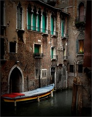 Home for the night. (Zuffo1) Tags: travel venice architecture gondola