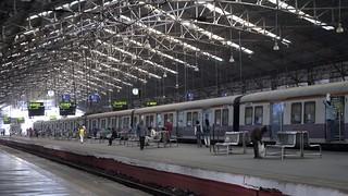 9:37a Sunday, Churchgate Station - Mumbai, India